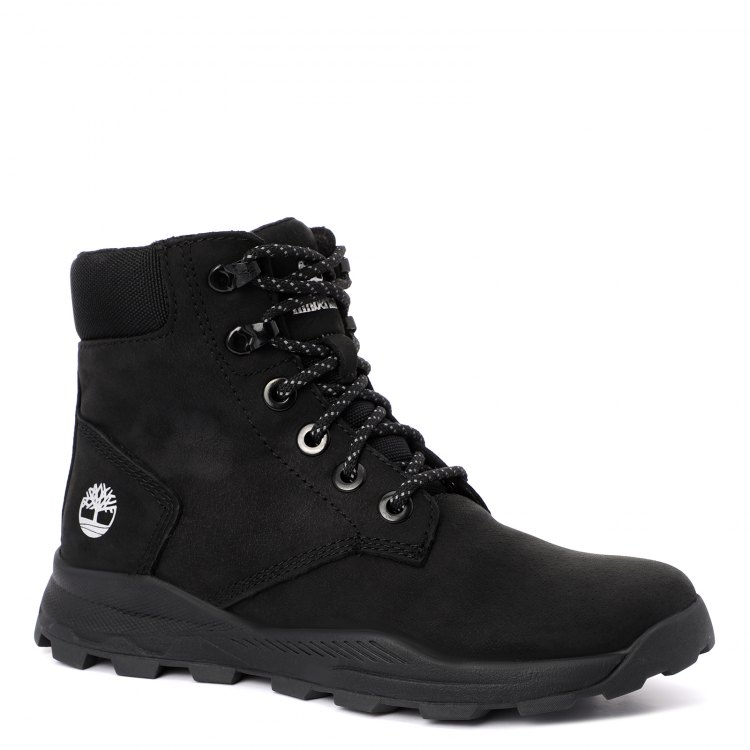 Купить Brooklyn Sneaker Boot_2089582, Ботинки для девочек Timberland, цв. черный, р.32, Детские ботинки