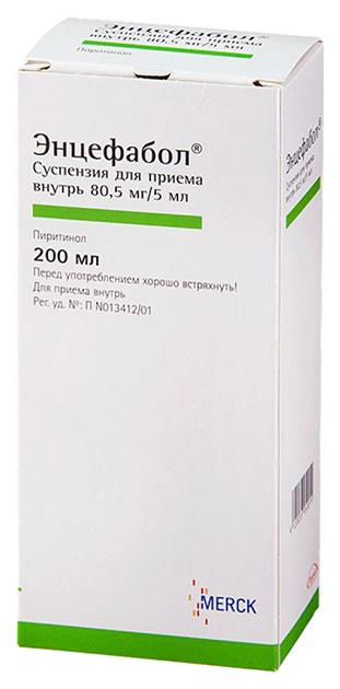 Энцефабол сусп оралн 80,5 мг/5 мл фл 200 мл N1