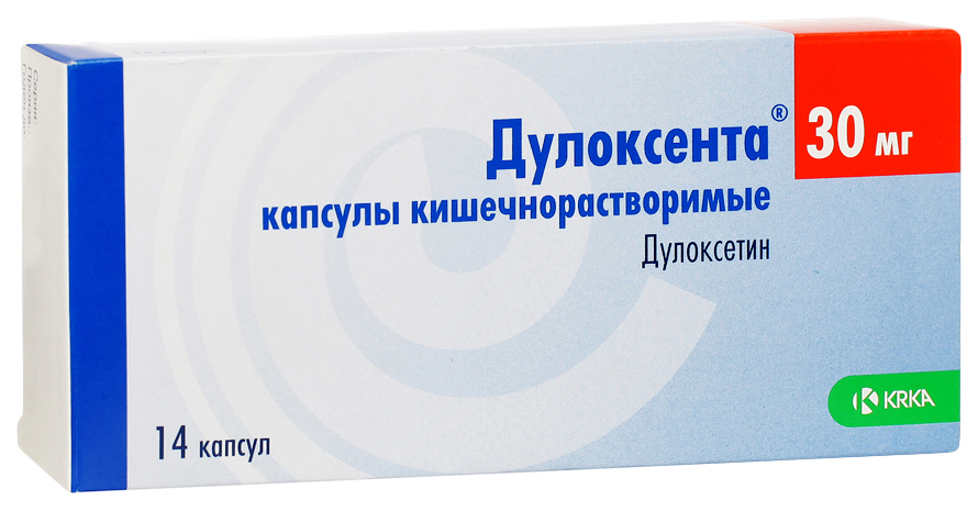 Дулоксента капсулы кишечнораст.30 мг №14