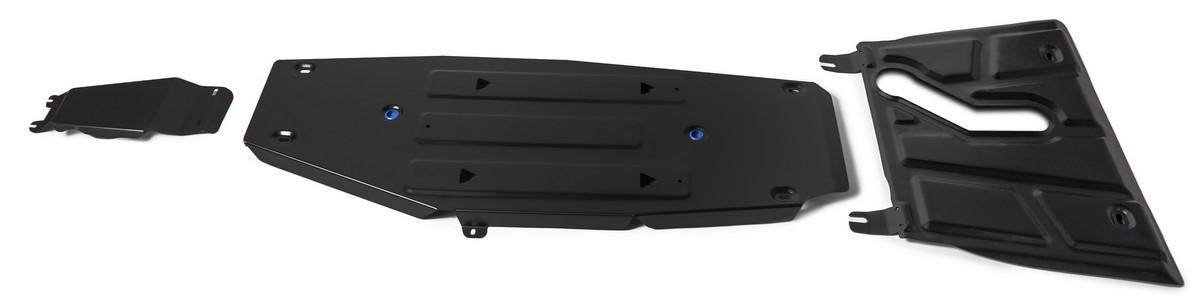Защита картера и КПП Rival (с вырезом под глушитель) Toyota RAV4 CA40 АКПП , K111.9506.1