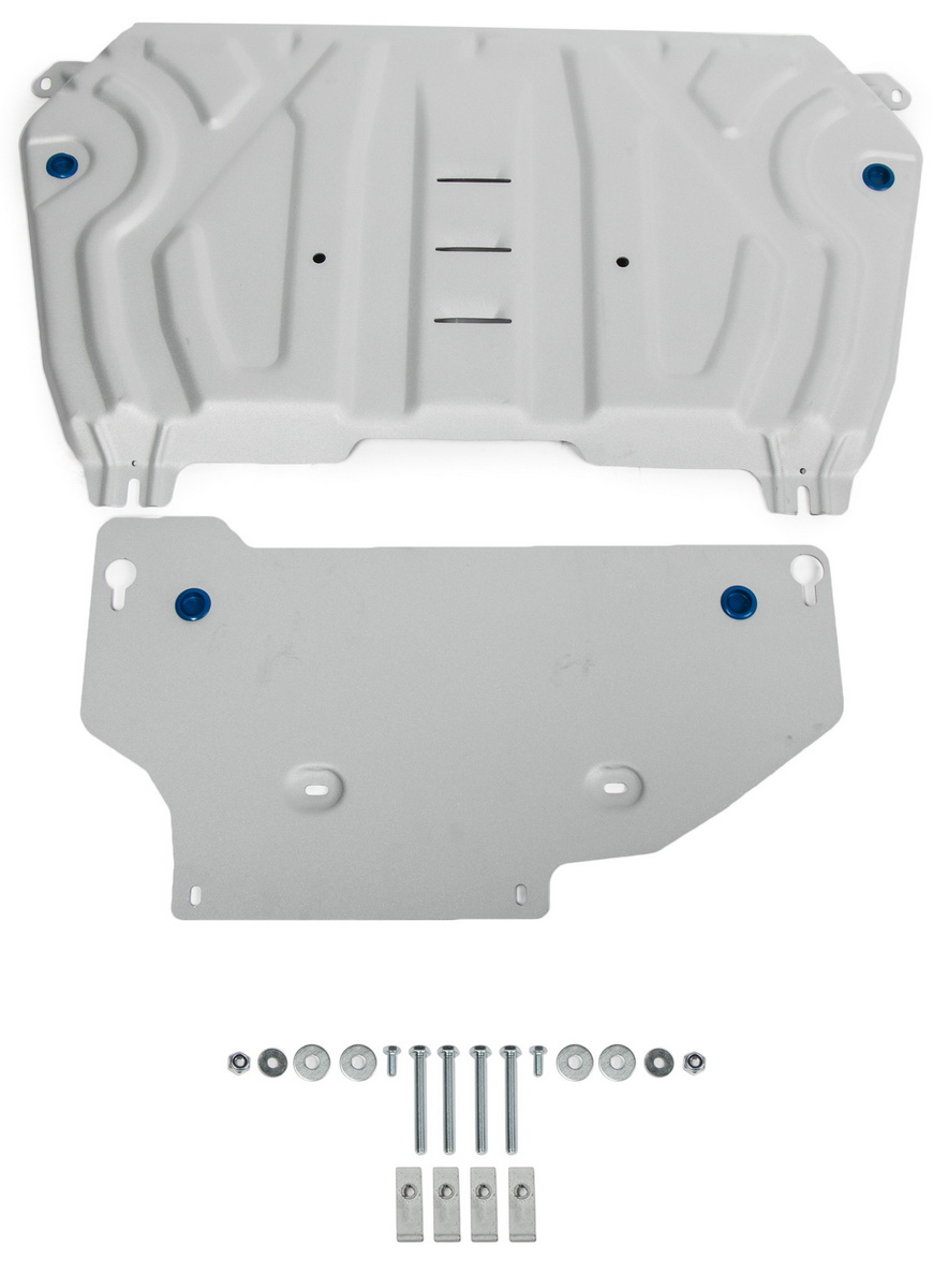 Защита картера и КПП Rival Toyota RAV4 XA50 , штампованная, 2 части, 333.9534.1