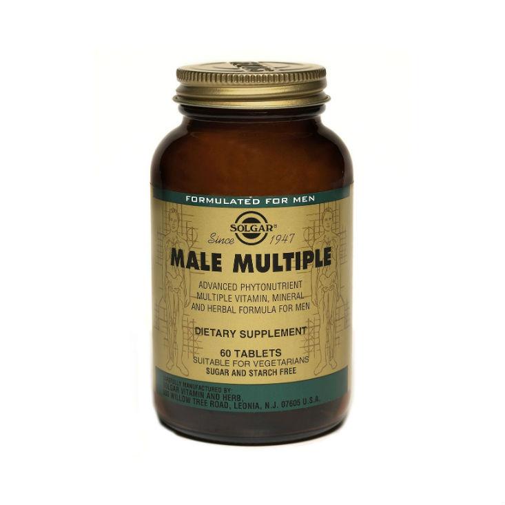 Купить Solgar Мультивитаминный и минеральный комплекс для мужчин таблетки №60