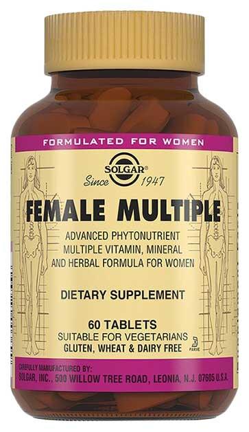 Купить Solgar Мультивитаминный и минеральный комплекс для женщин таблетки №60