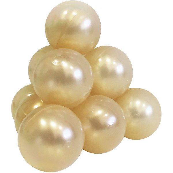 Шарики для бассейна Hotenok светло золотые,