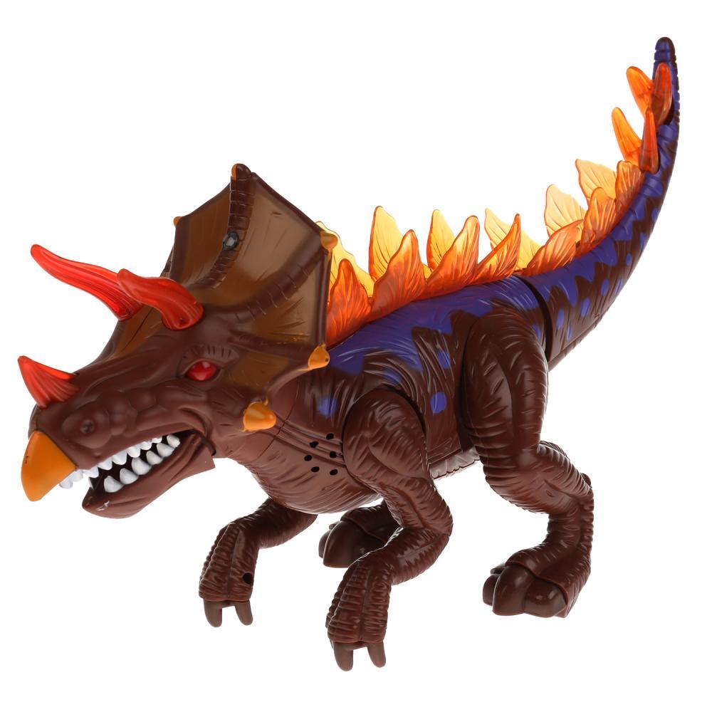 Купить Динозавр Shantou Gepai со световыми и звуковыми эффектами 60096A, Игровые фигурки