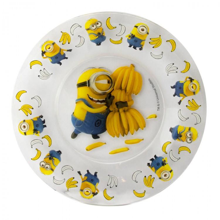 Десертная тарелка ND Play Симпатия Миньоны, 19,6