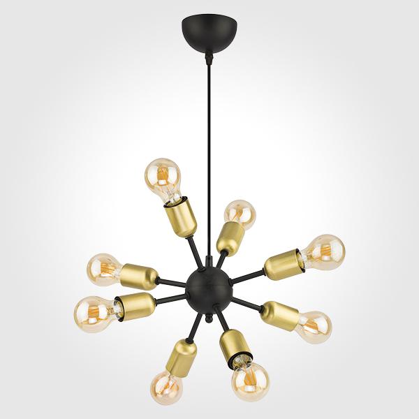 Люстра подвесная TK Lighting 1468 Estrella Black