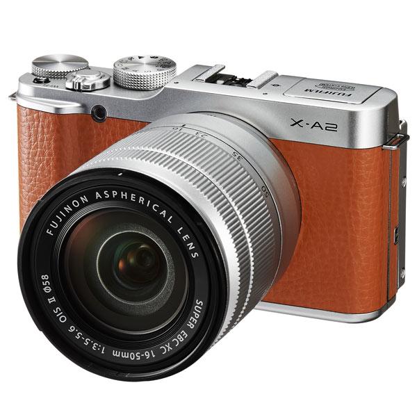 Фотоаппарат системный Fujifilm X A2 Kit Brown
