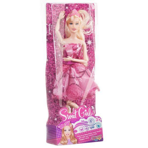 Кукла Shantou Gepai Sweet girl в розовом платье PS15802B-1