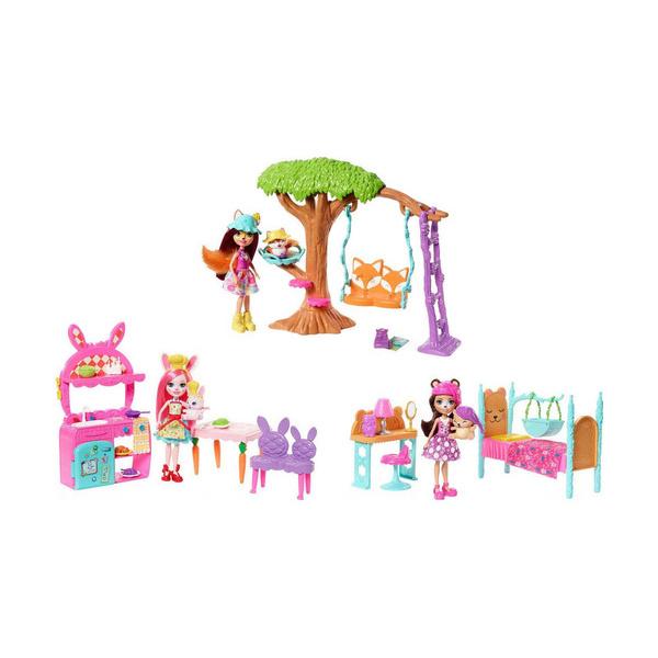 Купить Сюжетный игровой набор Enchantimals Mattel FRH44, в ассортименте,