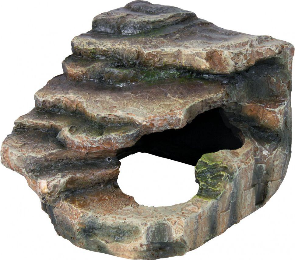 Декорация для террариума TRIXIE Угловая пещера, полиэфирная