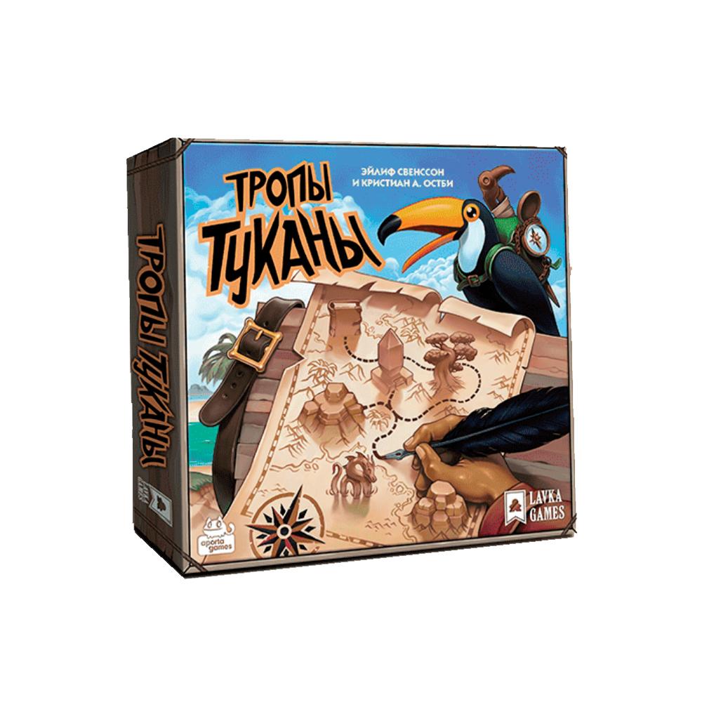 Купить Настольная игра Lavka Games Тропы Туканы,