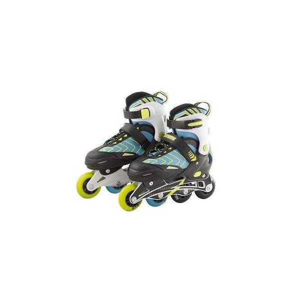 Раздвижные роликовые коньки Atemi AJIS 1603 синие,