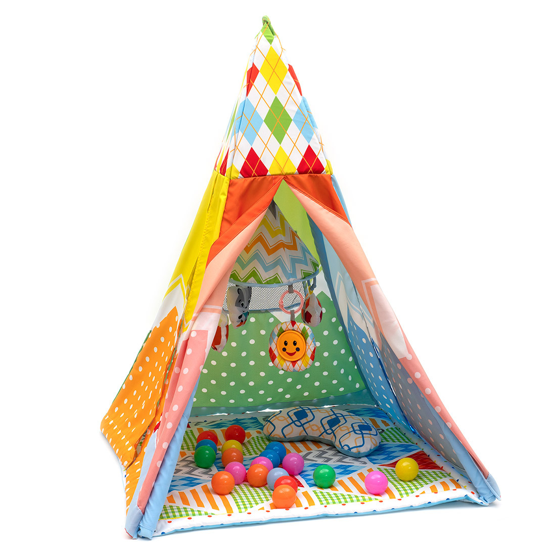 Коврик с игрушками Funkids Tent With