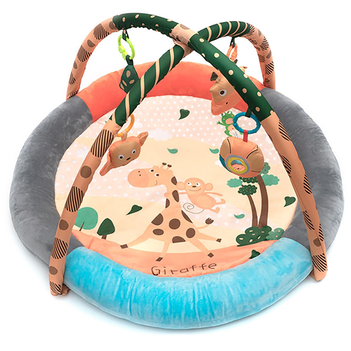 Коврик с игрушками Funkids Round Comfy Gym