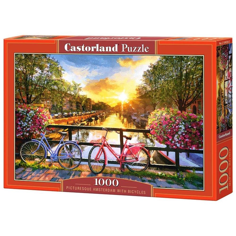 Пазл Castorland 1000 деталей Амстердам C-104536