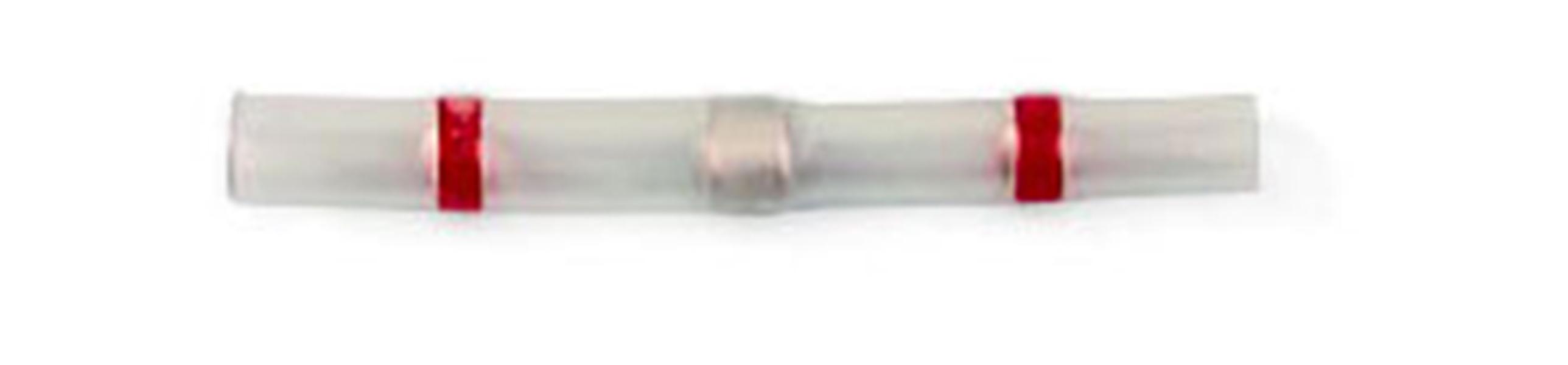 Соединитель термоусаживаемый под пайку красный 0,5