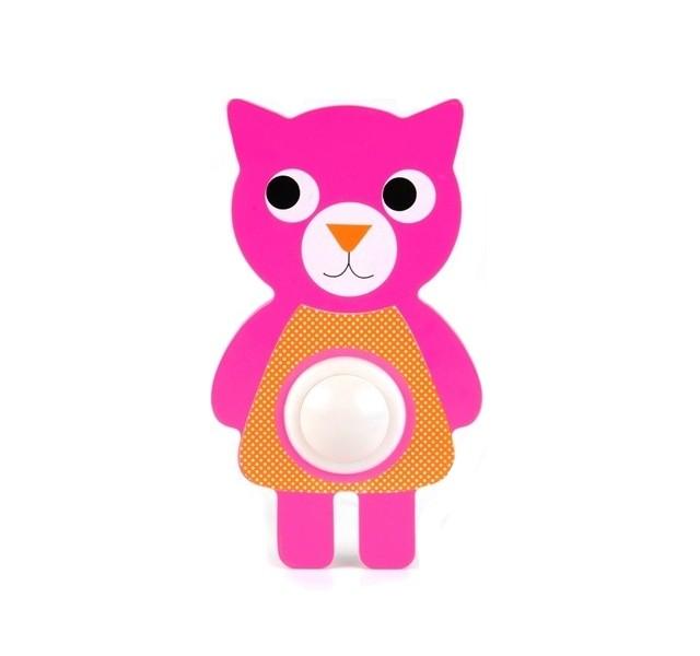Купить Ночник Кошка Led (Розовый), Present Time,