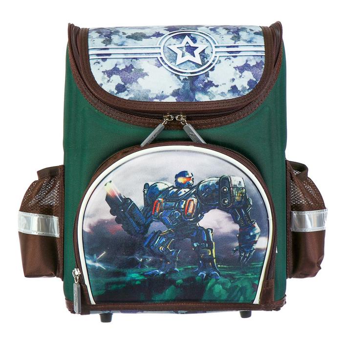 Купить Ранец раскладной Calligrata EVA Непобедимый трансформер, 35х26х15 см, Школьные рюкзаки для девочек