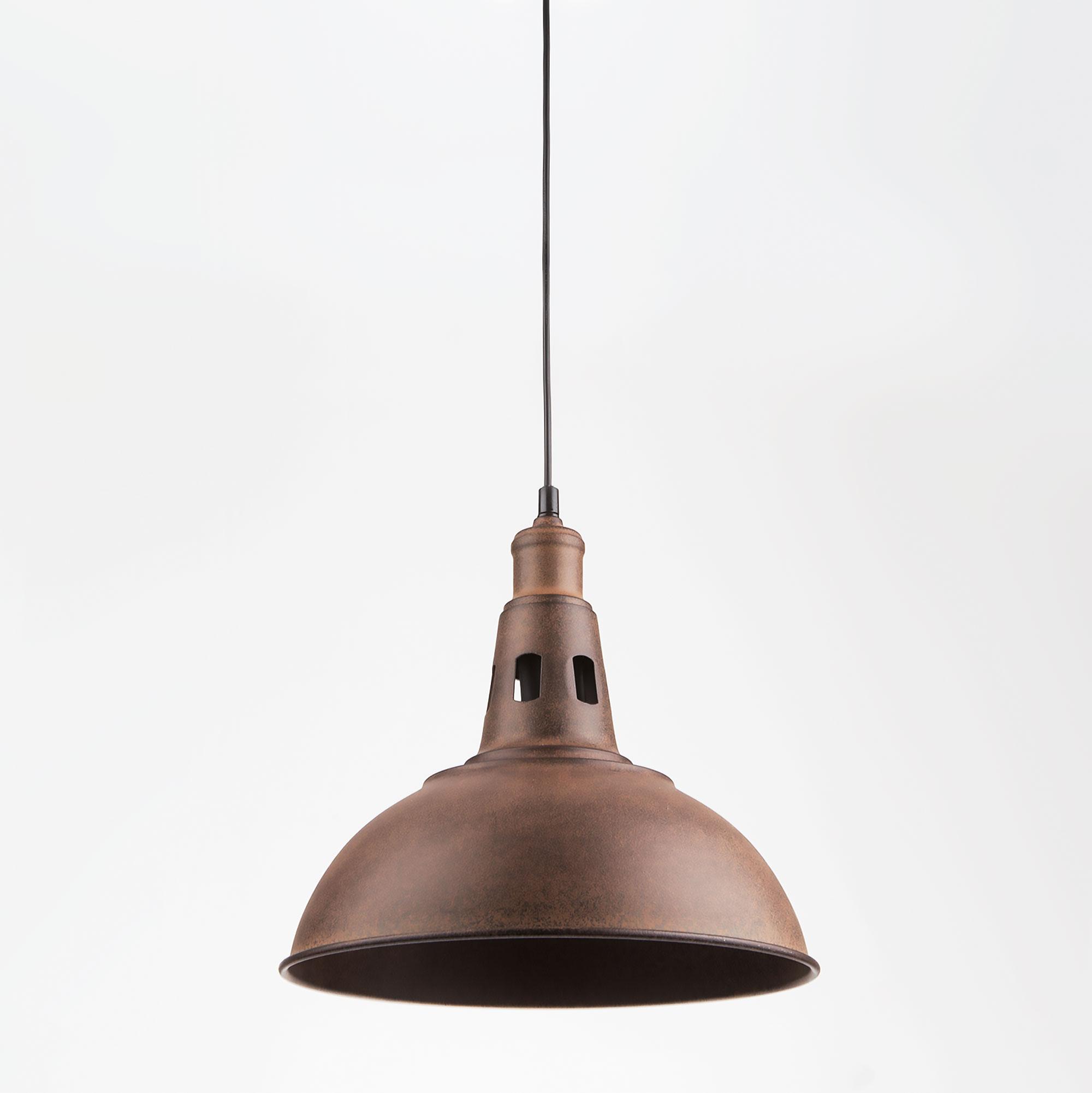 Подвесной светильник Евросвет Copper 50052/1 патинированный черный фото