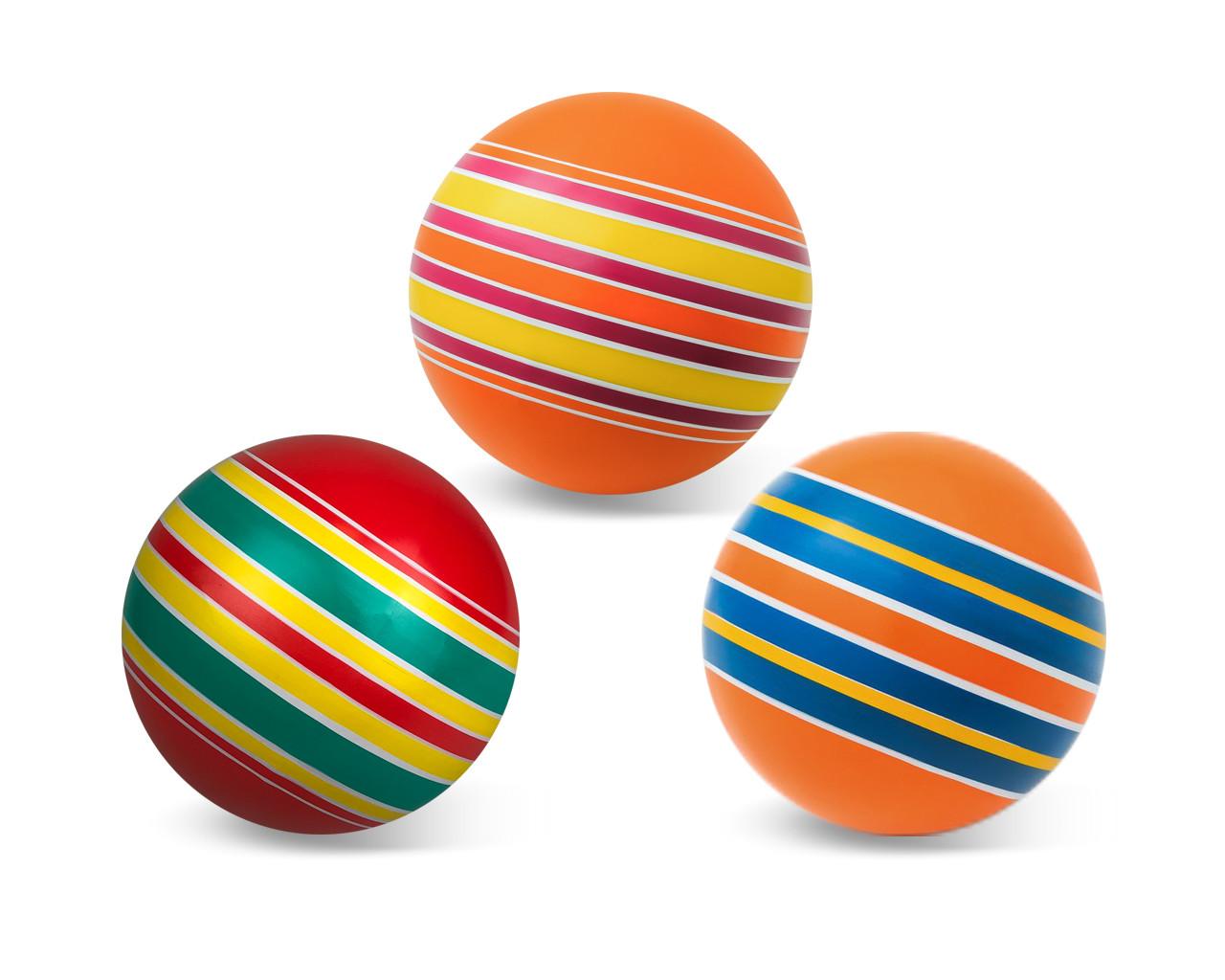 Мяч детский Мячи Чебоксары Серия Полосатики