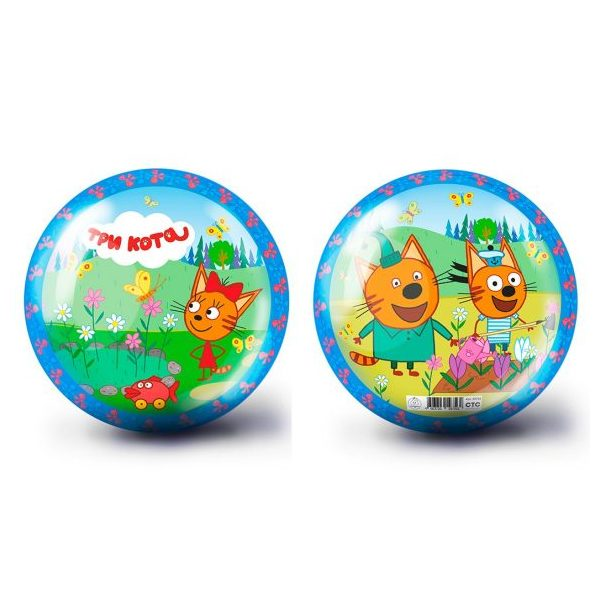 Купить Мяч ЯиГрушка Три кота-1, 23 см, Детские мячи