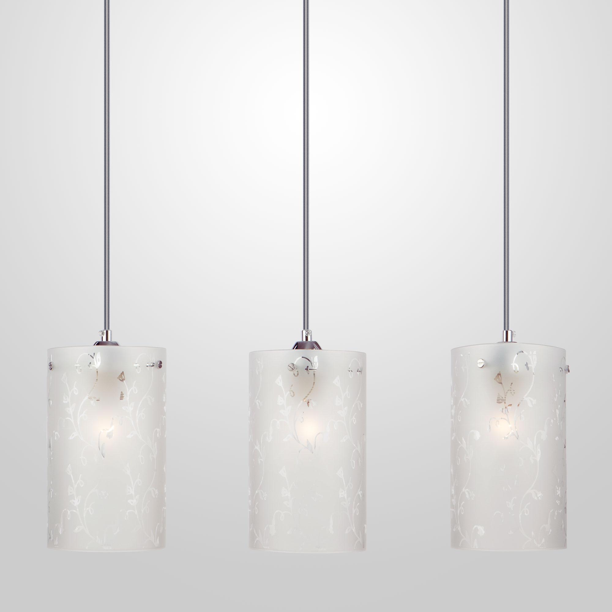 Подвесной светильник Евросвет Melia 1129/3 хром фото
