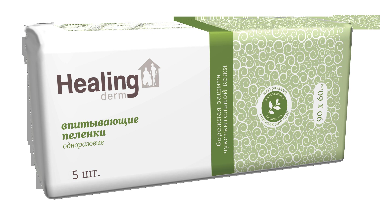 Пеленки ГринЛаб Healing derm одноразовые впитывающие