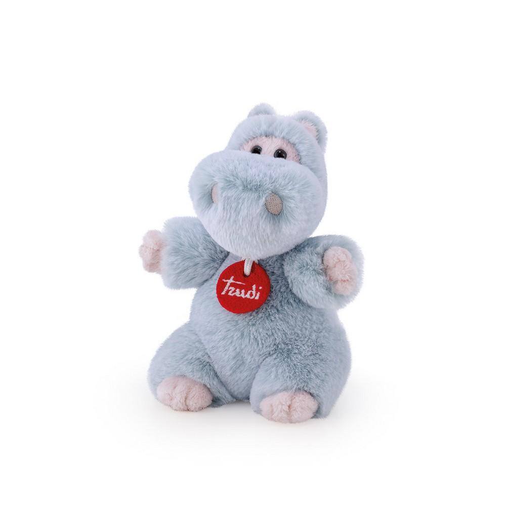 Купить Мягкая игрушка Trudi Бегемотик, 19 см, Мягкие игрушки животные