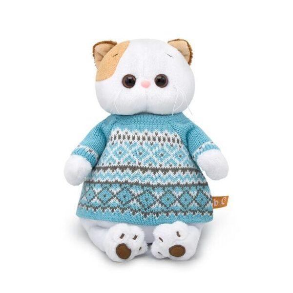 Купить Мягкая игрушка BUDI BASA Кошечка Ли-Ли в свитере, 24 см,