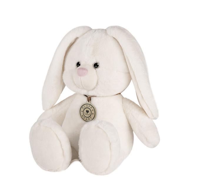 Мягкая игрушка Maxitoys Зайка Fluffy Heart, 35 см