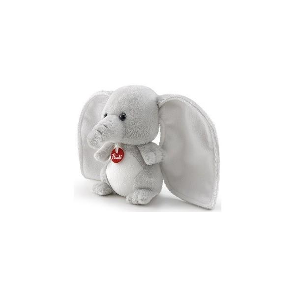 Мягкая игрушка Trudi Слоник-ушастик, 13x14x8 см