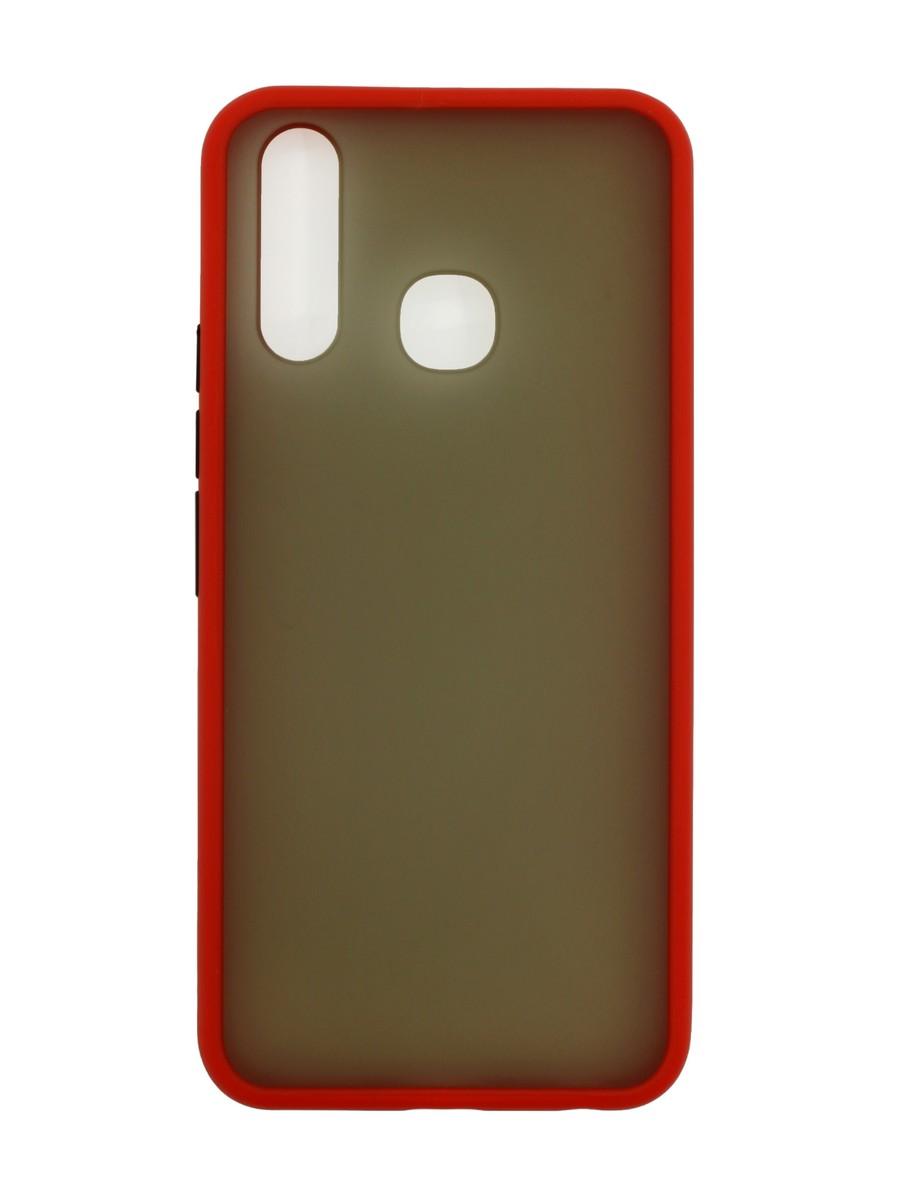 Чехол Zibelino Plastic Matte для Vivo Y19/ Vivo U3/ Vivo Y5S Red фото