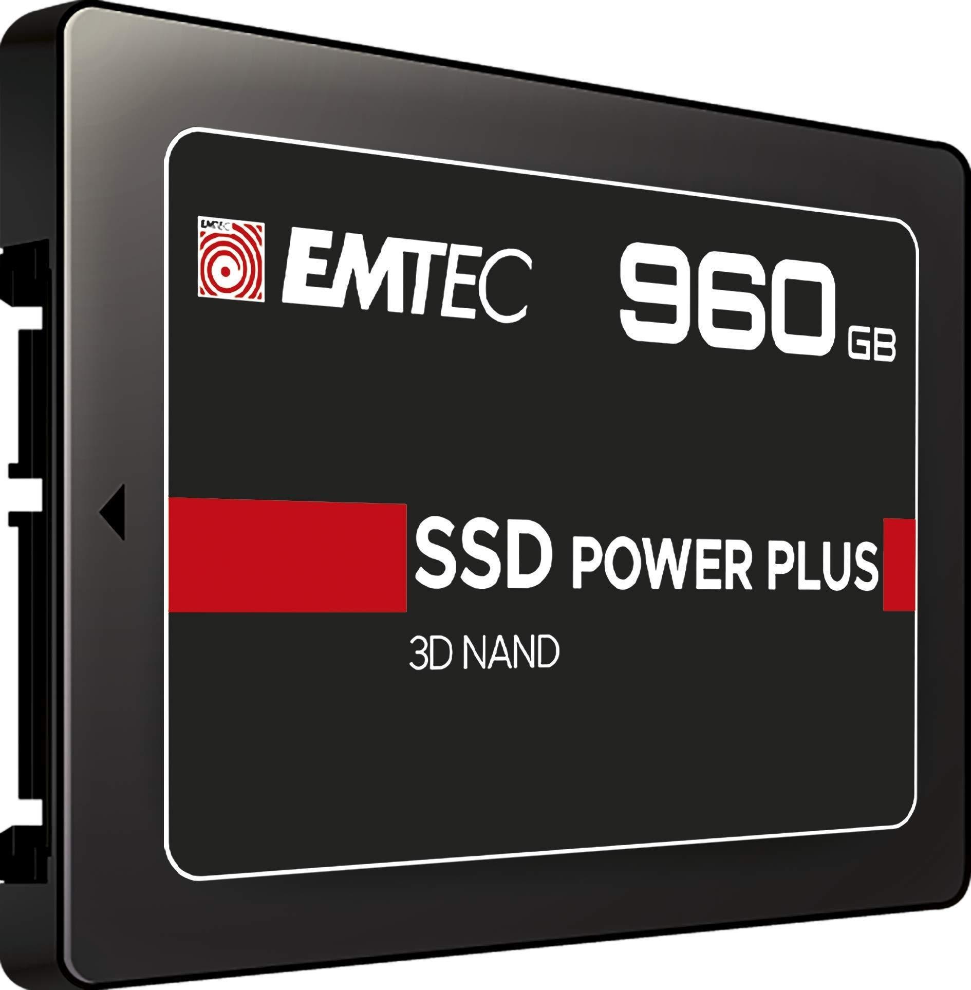 Внутренний SSD накопитель EMTEC 960Gb (ECSSD960GX150)