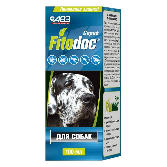 Спрей репеллентный для собак АВЗ Fitodoс,