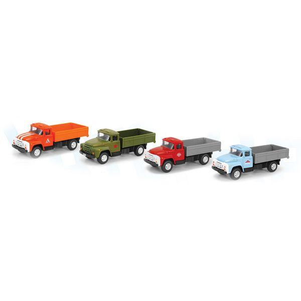 Купить Набор металлических машин Play Smart Автопарк А79189, PLAYSMART, Строительная техника