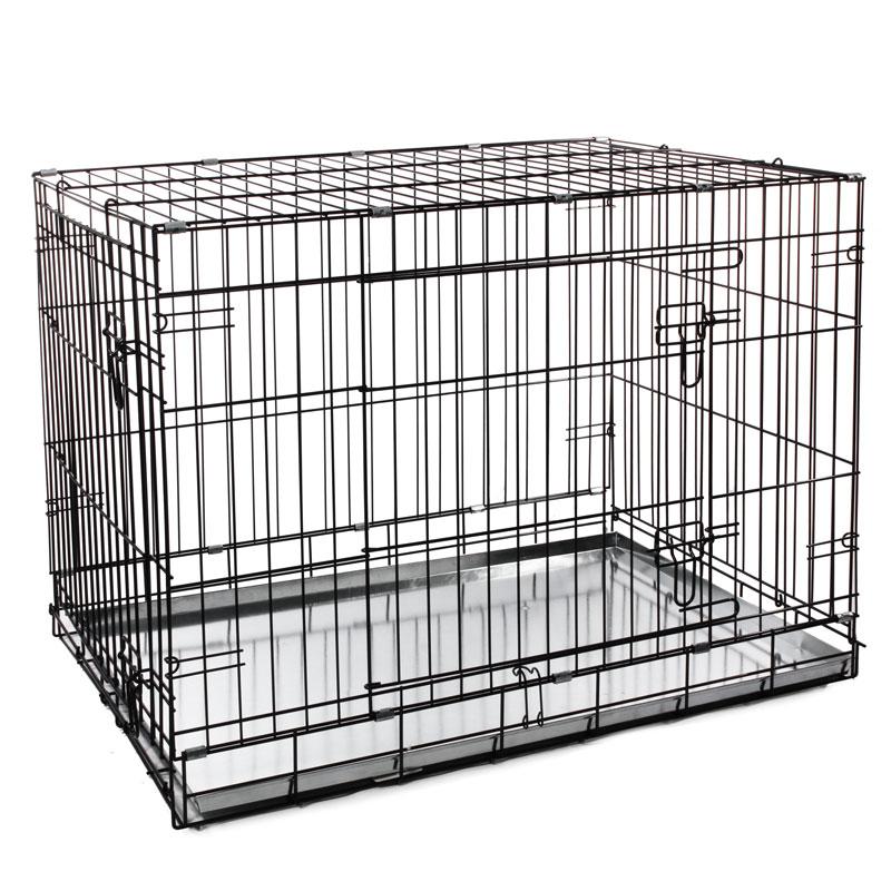 Клетка для собак Triol металл, 62x91.5x70см,