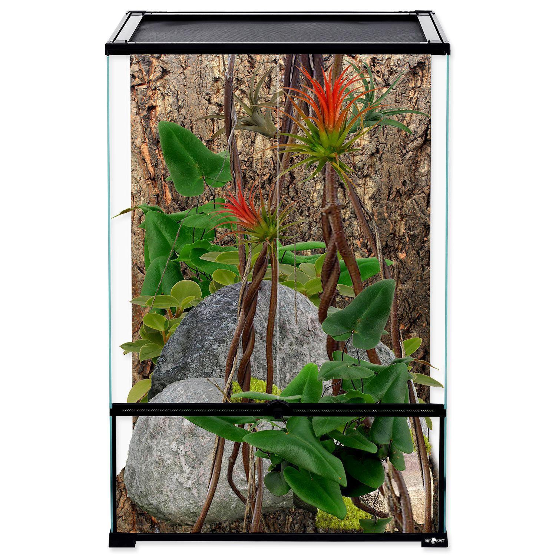 Террариум стеклянный 60х45х90 см
