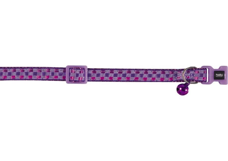 Ошейник Nobby для кошек, КАРО фиолетовый