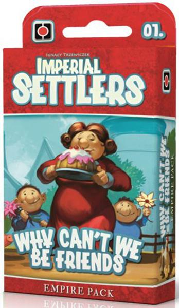 Настольная игра Portal Games Imperial Settlers: