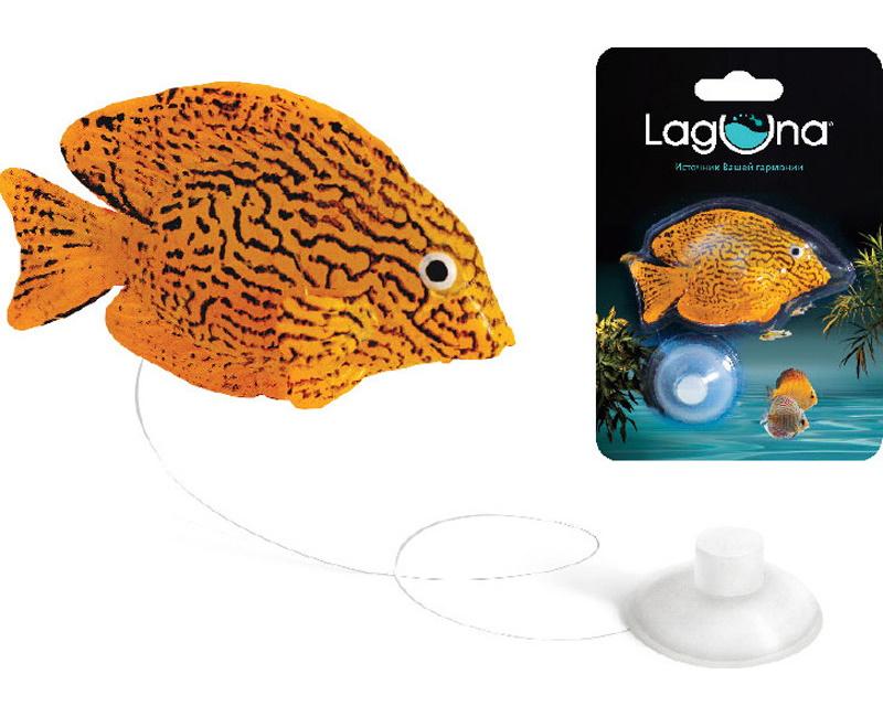 Декорация для аквариума Laguna Гурами, полиэфирная смола, 9.7х14х2.5 см фото