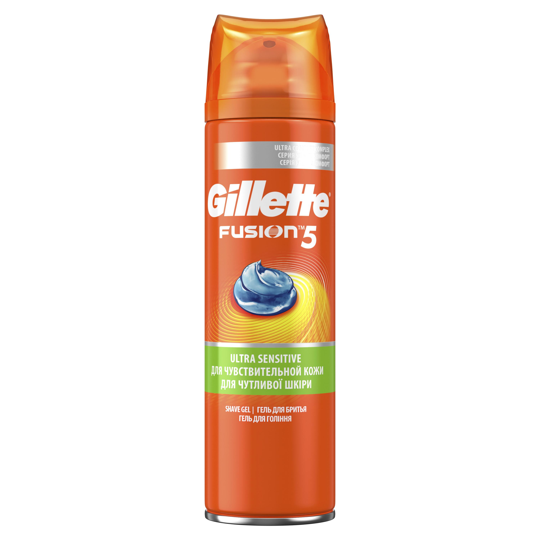 Гель для бритья Gillette Fusion Для чувствительной кожи 200 мл фото
