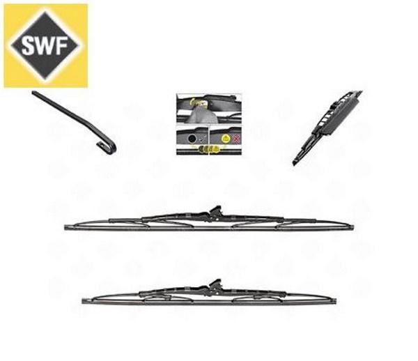 SWF 116311 Стеклоочистители  21-530мм. сполер/19-475мм. 2шт..