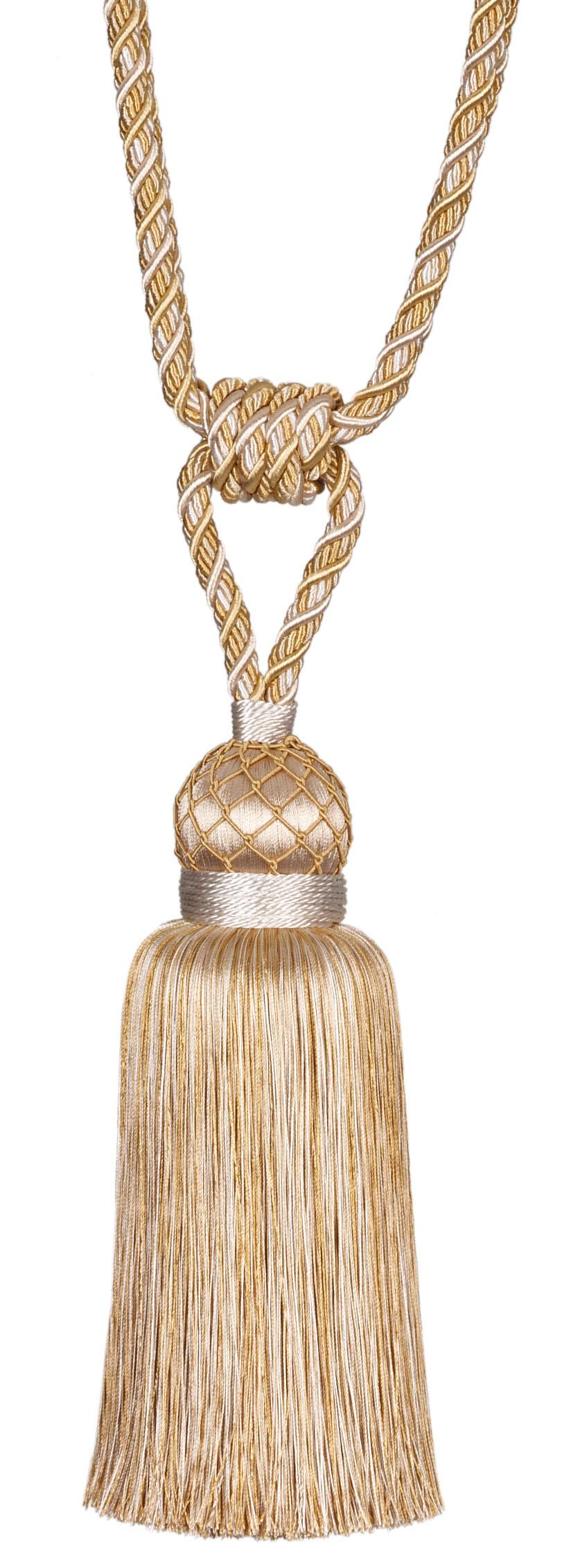 Кисть подхват для штор Gold Textile Lampone