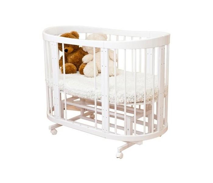 Кровать детская Можга Красная Звезда Паулина-2, белый