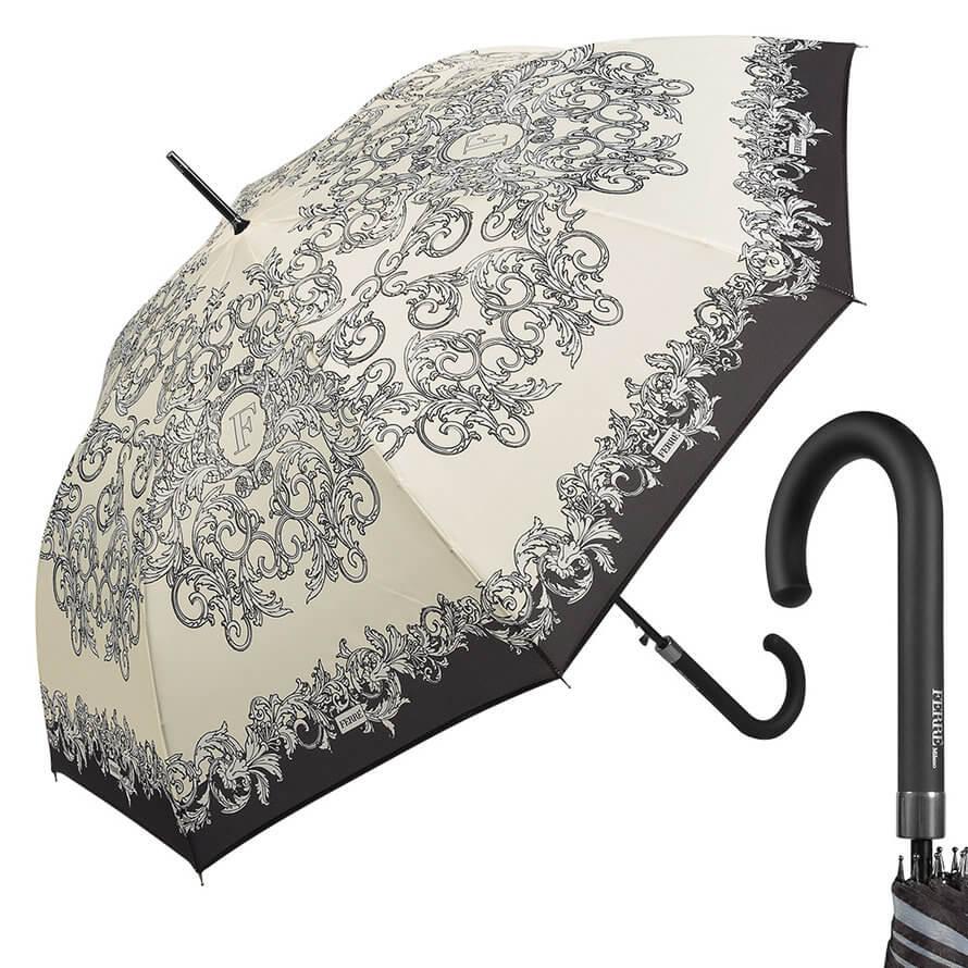 Зонт-трость Ferre Milano 300-LA Design Bianco фото