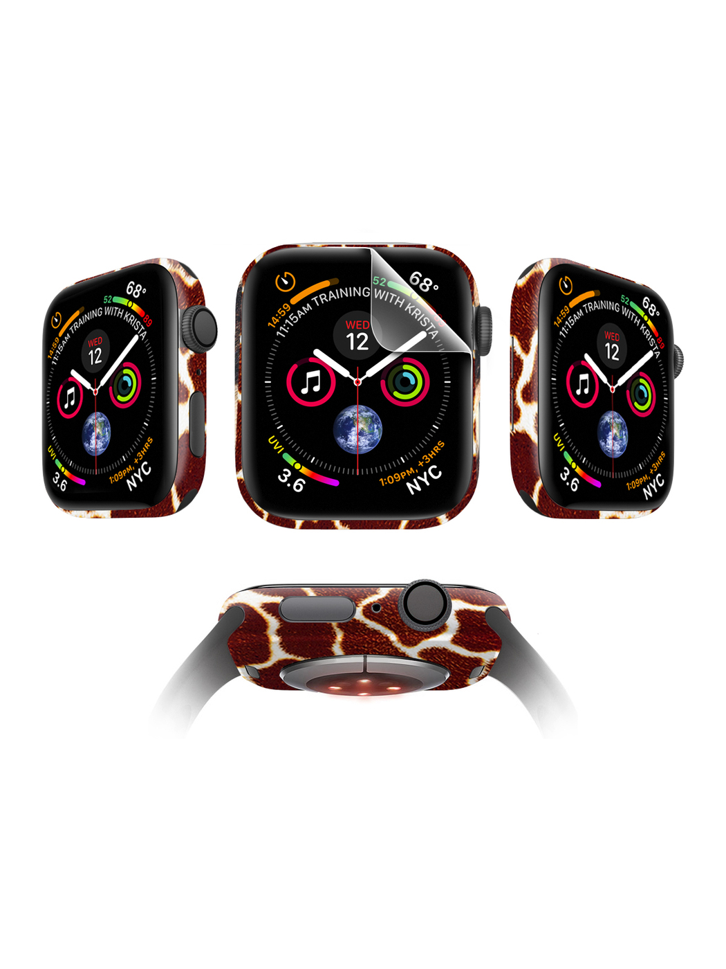 Защитная пленка MOCOLL для Apple Watch 44mm