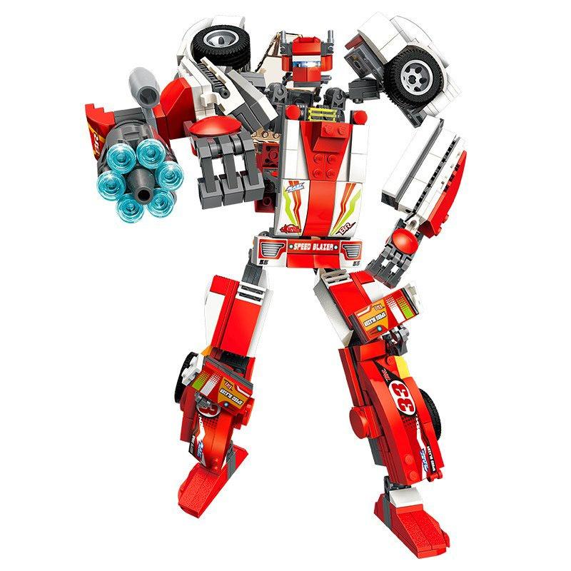 Купить Конструктор Enlighten Робот-машина, 498 деталей, Enlighten Brick,