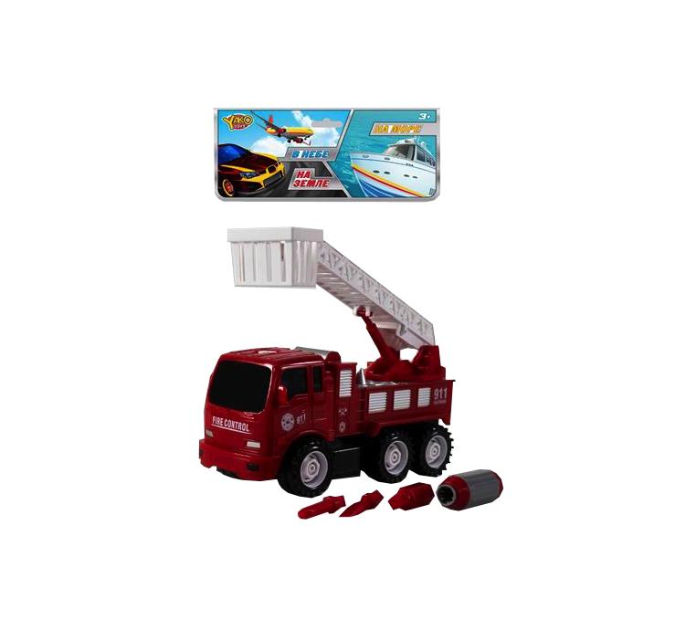 Купить Конструктор China Bright Машина пожарная, Конструкторы пластмассовые