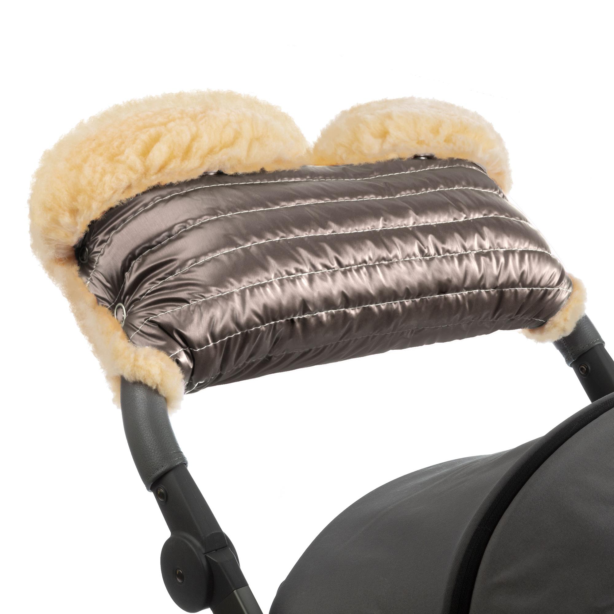 Купить Муфта для рук на коляску Esspero Diaz Lux Almond,